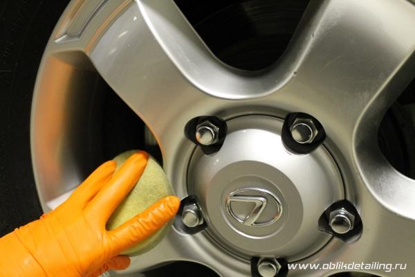 Восстановительная полировка кузова Lexus LX 570
