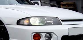 """Nissan Skyline - полировка и """"жидкое стекло"""" Willson"""