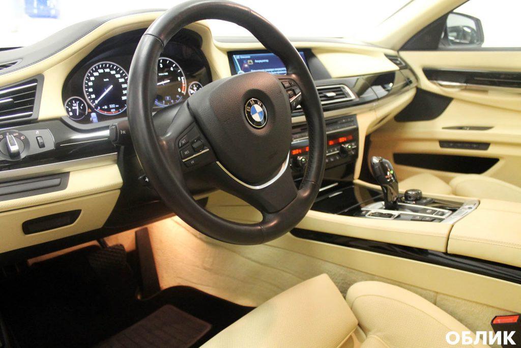 Химчистка салона и кожи BMW 7