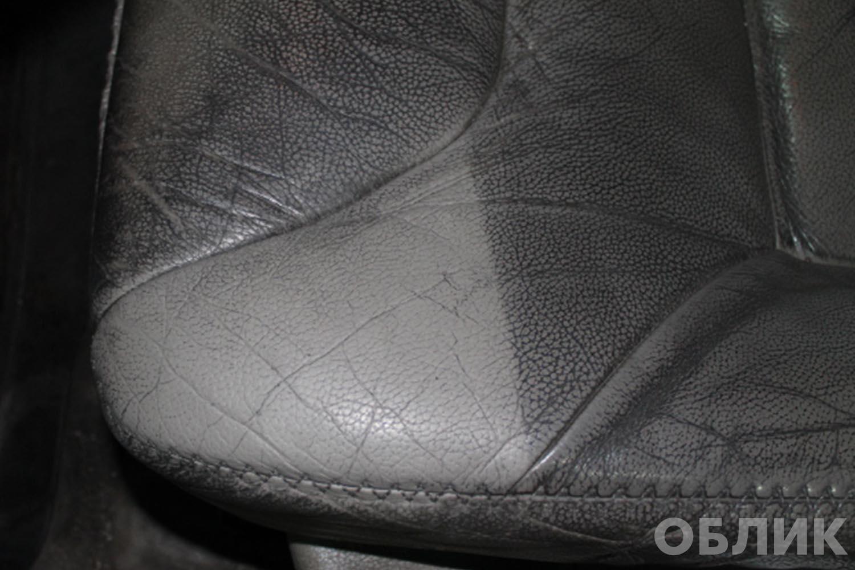 Глубокая химчистка сиденья на Volvo XC70