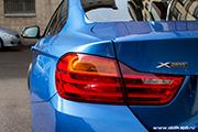 BMW 435i - очищающая полировка авто