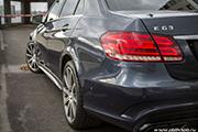 Mercedes E63 AMG- восстановительная полировка автомобиля