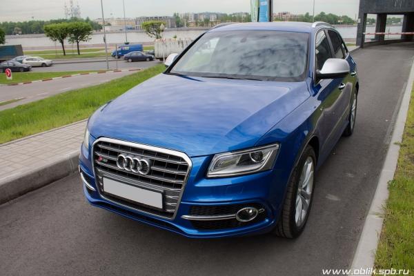 Audi SQ5— очищающая полировка кузова