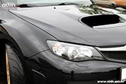 Subaru Impreza STI -восстановительная полировка кузова СПб