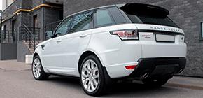 Защита кузова нового автомобиля Range Rover Sport