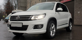 Защитная полировка Volkswagen Tiguan