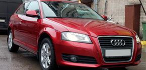 Полировка кузова автомобиля Audi A3