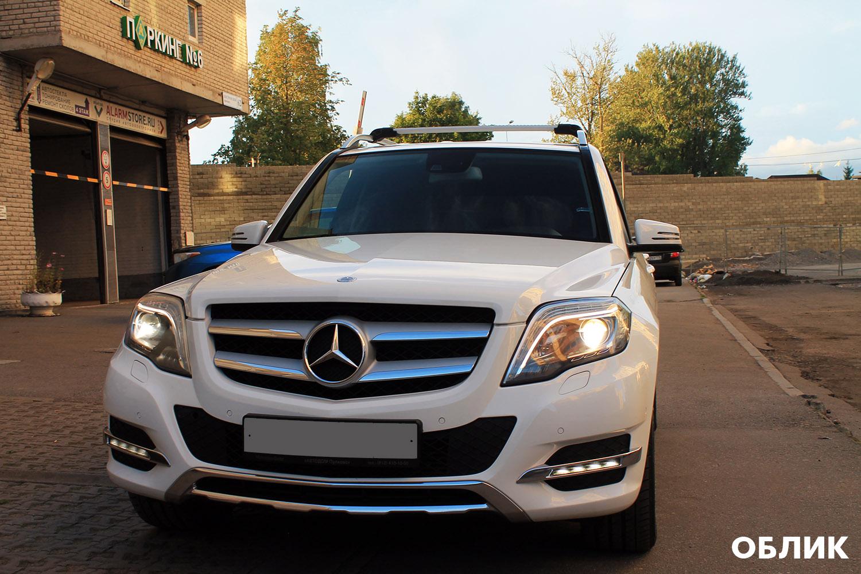 Mercedes GLK — регулярное обновление защитного покрытия