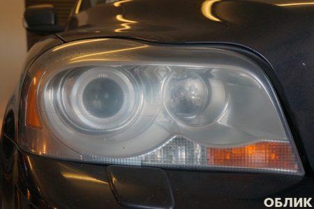 Правая фара Volvo XC90 - состояние до полировки