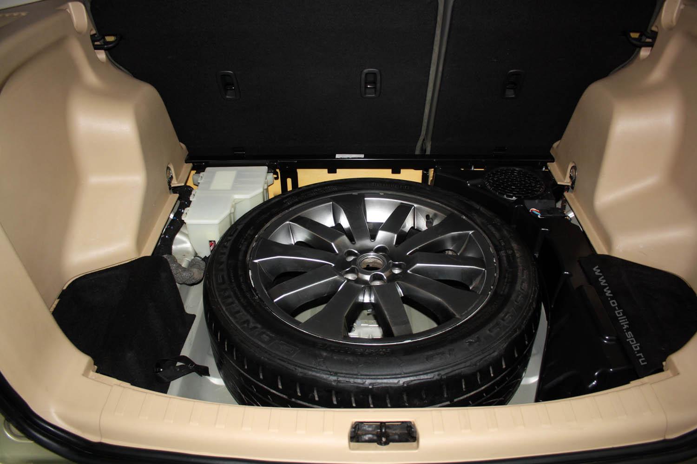 Процесс стандартной химчистки салона авто