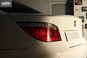 BMW- 5 series - восстановительная полировка кузова автомобиля