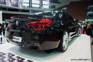 BMW 650i — восстановительная полировка авто