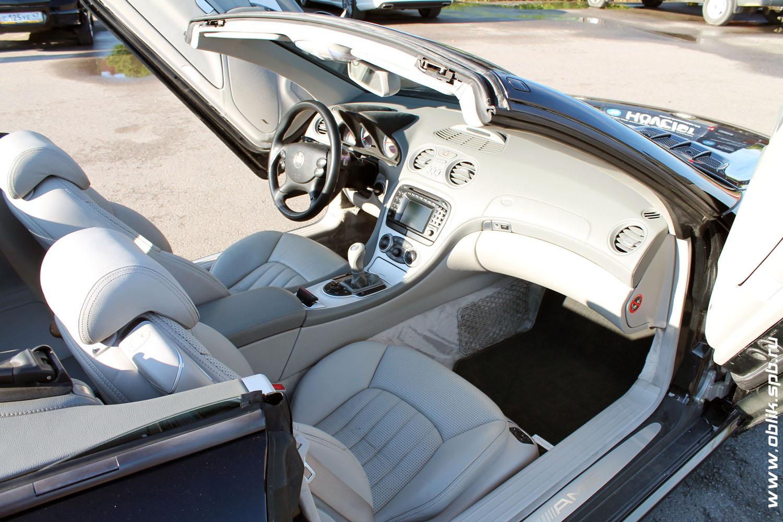 Глубокая химчистка с частичной разборкой Mercedes SL55