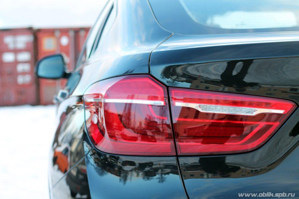 BMW detailing