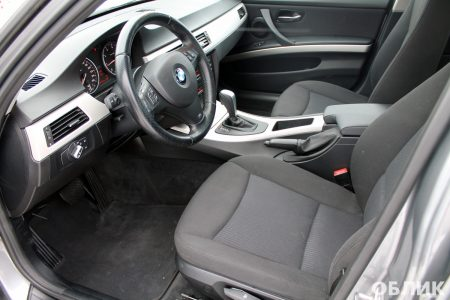 Детейлинг салона BMW e90