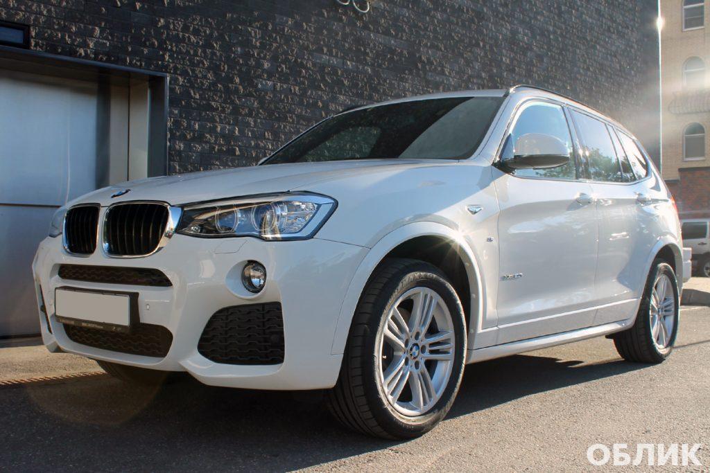 Детейлинг BMW X3