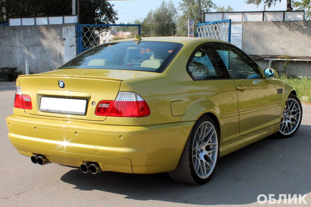 Детейлинг BMW M3 e46