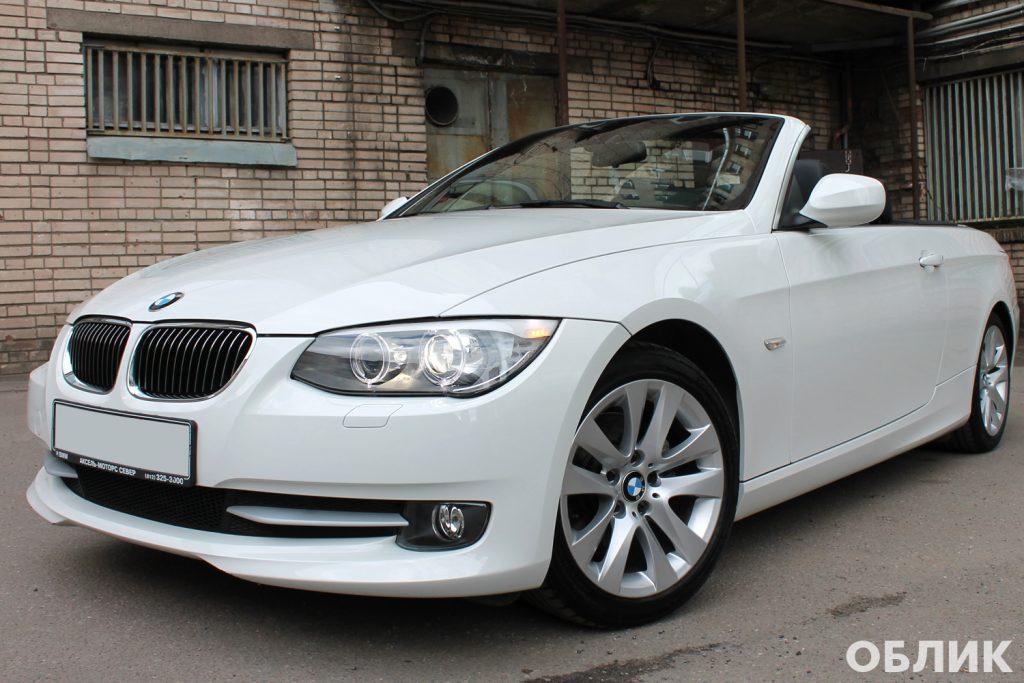 Детейлинг BMW e93