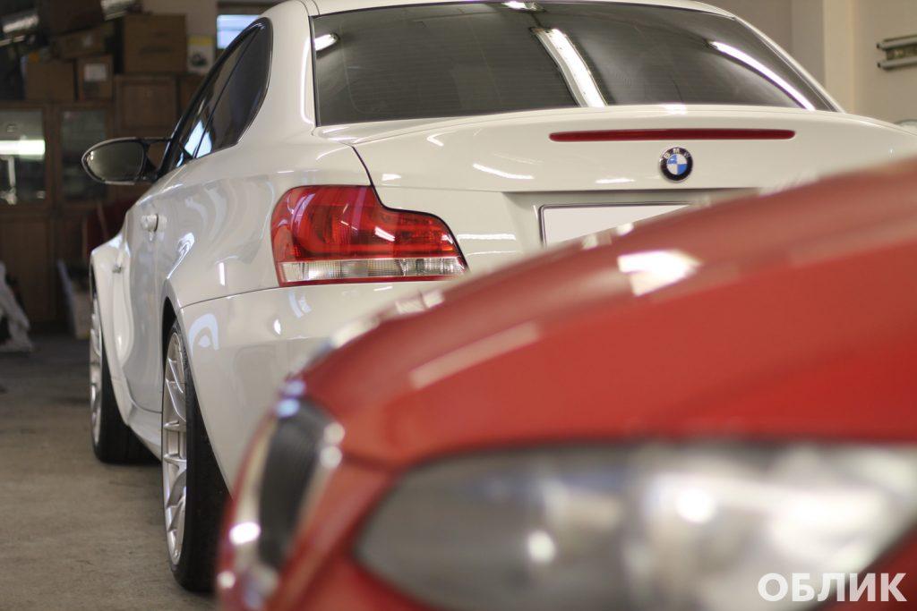 Детейлинг BMW 1M + 335