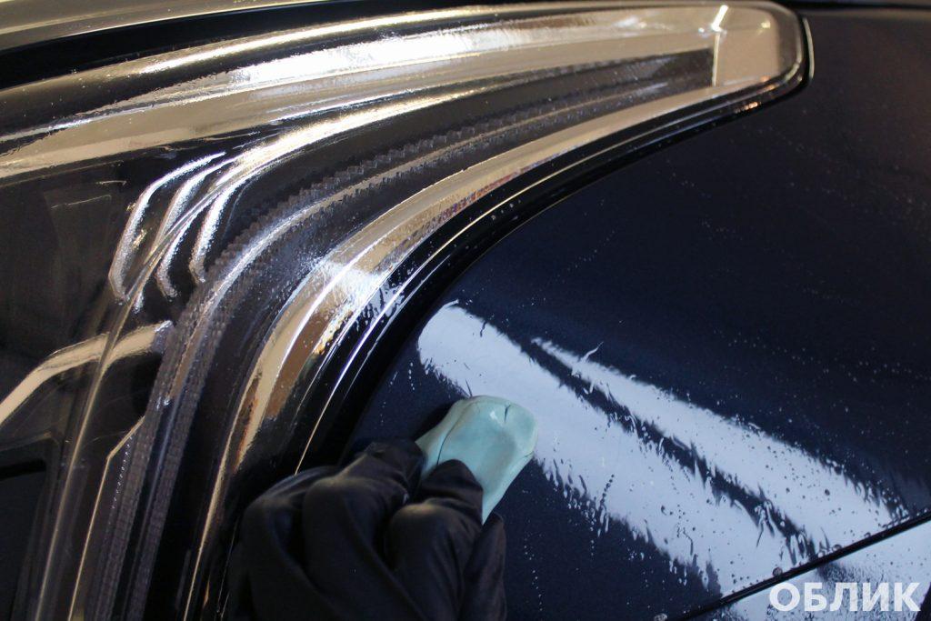 Подготовка кузова к нанесению защитного покрытия