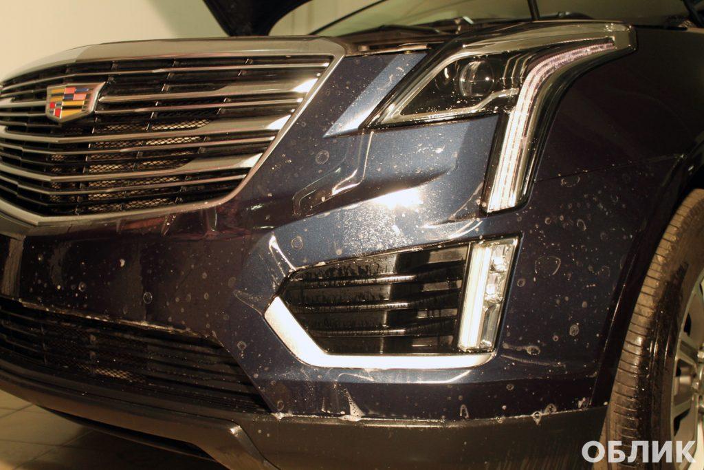 Антигравийная пленка 3М на Cadillac XT5