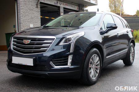 Результат защиты кузова нового Cadillac XT5