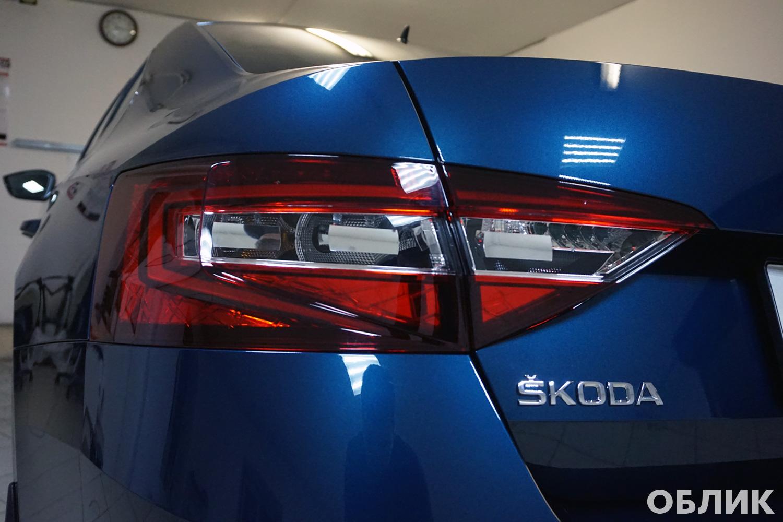 Skoda Superb — Комбинированная защита нового автомобиля