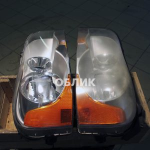 Полировка фар Volvo