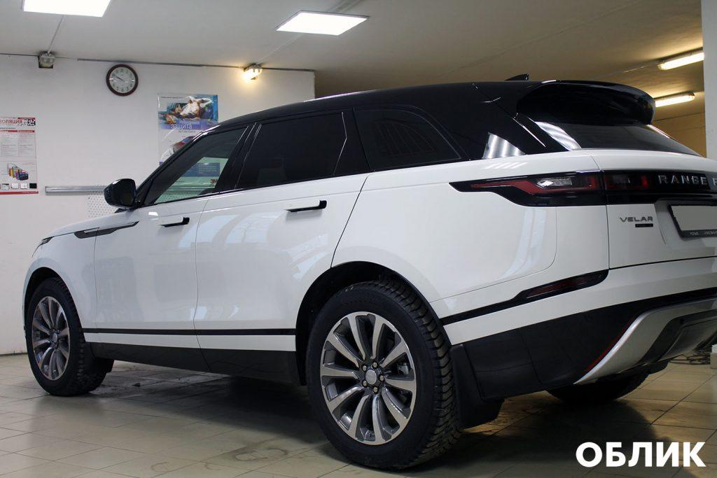 Детейлинг Range Rover Velar