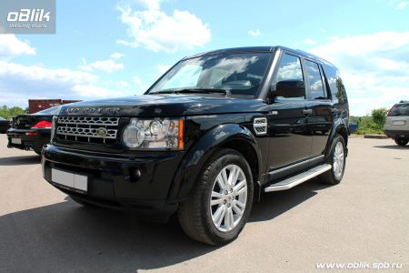 Детейлинг Land Rover Discovery