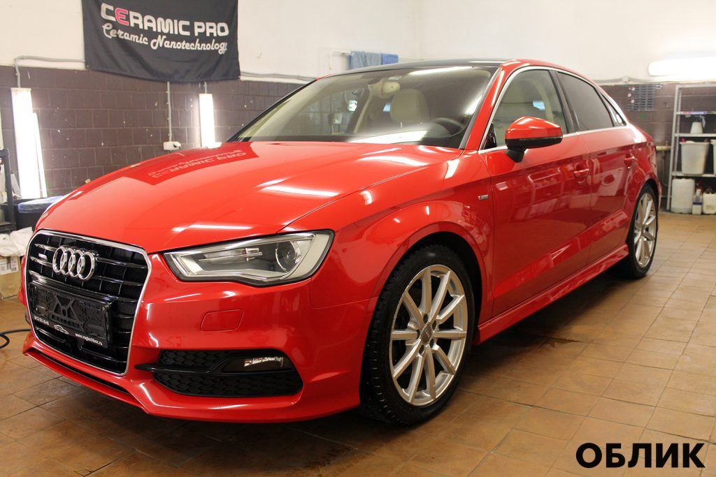 Audi A3 детейлинг