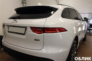 Тонировка стекол Jaguar F-Pace