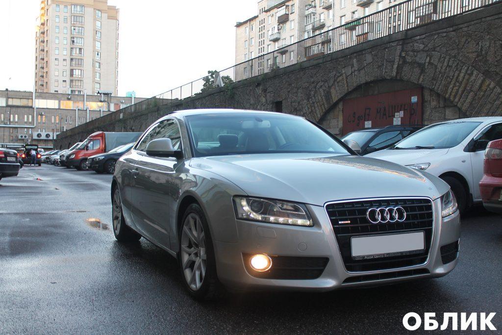 Детейлинг Audi A5