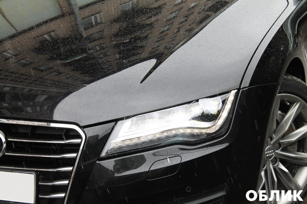 Audi A7 - фары