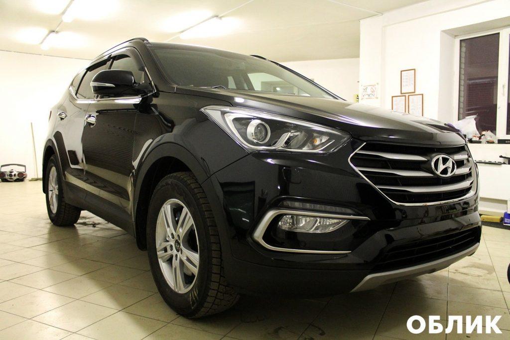 Детейлинг Hyundai Santa Fe