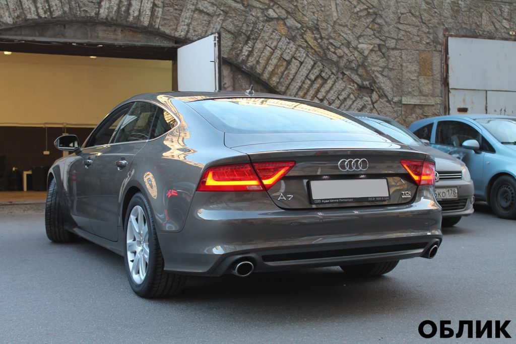 Audi А7 - детейлинг от студии Облик
