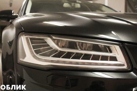 Фары - детейлинг Audi А8