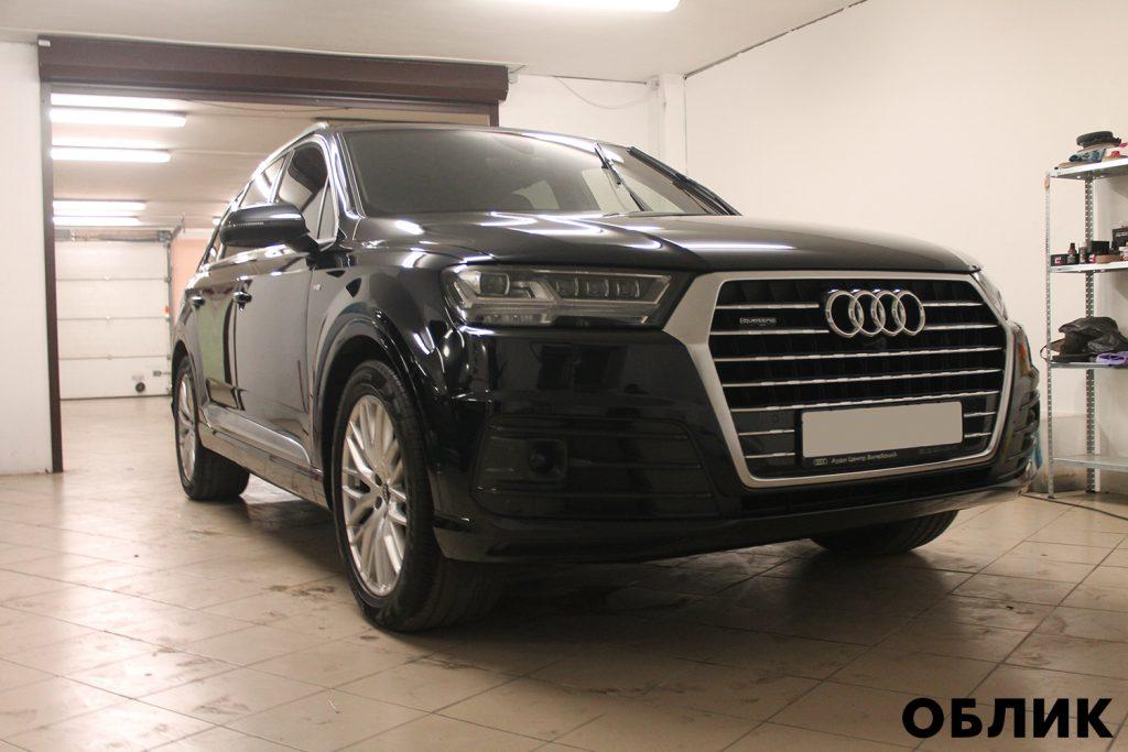 Детейлинг Audi Q7