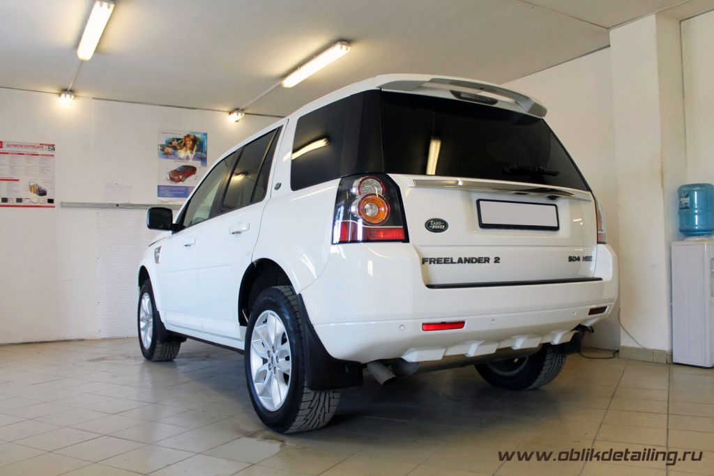 Детейлинг Land Rover Freelander
