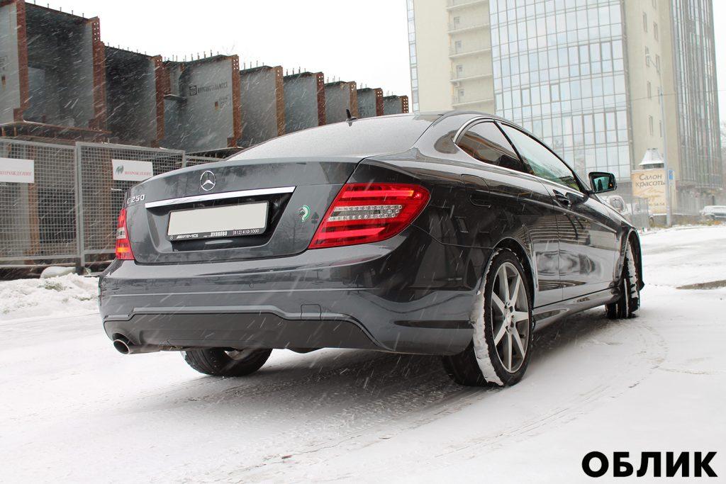 Детейлинг Mercedes-Benz C