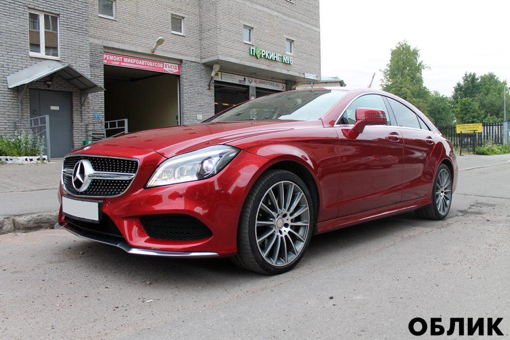 Детейлинг Mercedes-Benz CLS