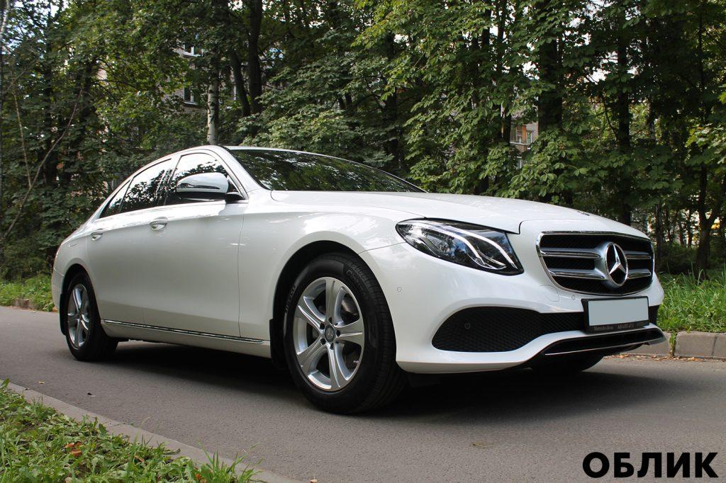 Детейлинг Mercedes-Benz E-class