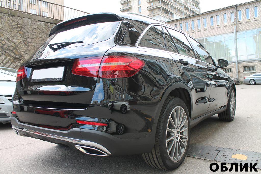 Детейлинг Mercedes-Benz GLE