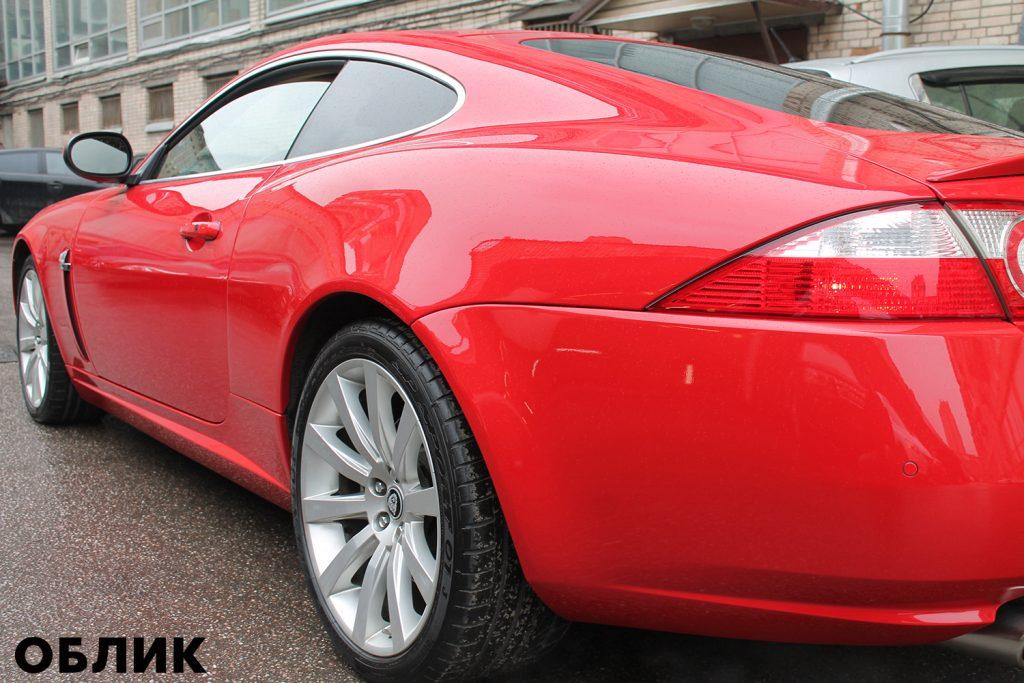 Детейлинг Jaguar XK