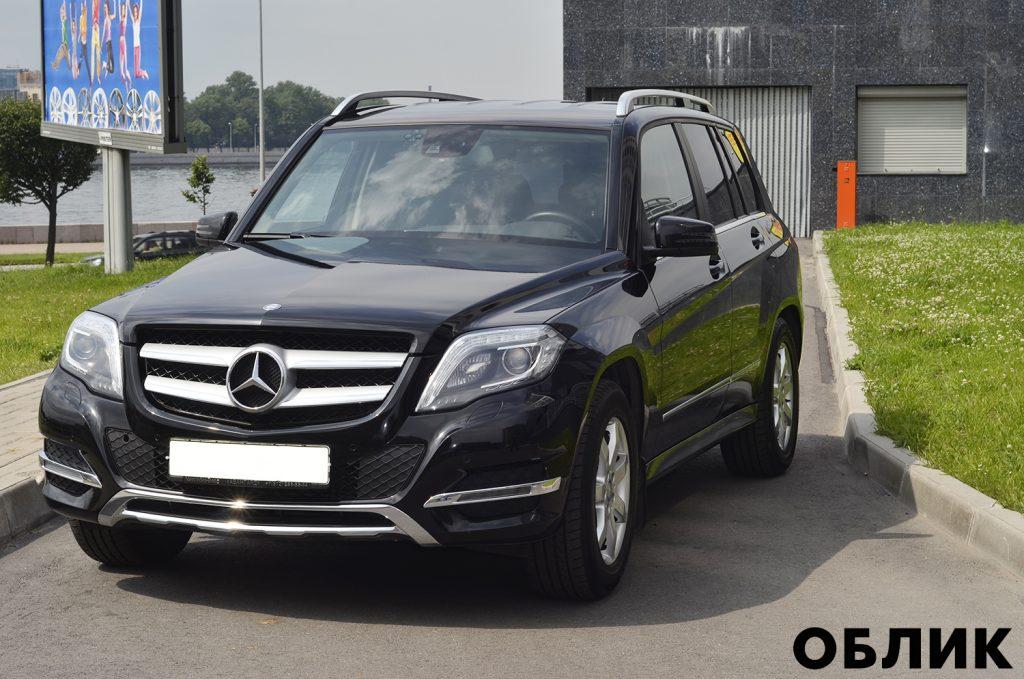 Детейлинг Mercedes-Benz GLK