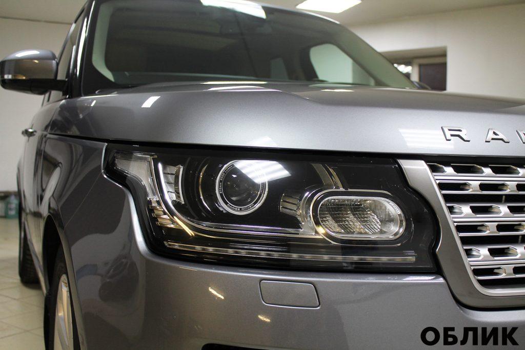 Детейлинг Range Rover Sport