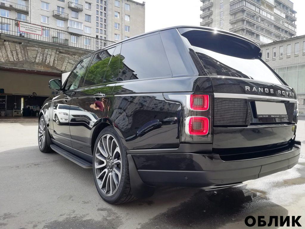 Детейлинг Range Rover