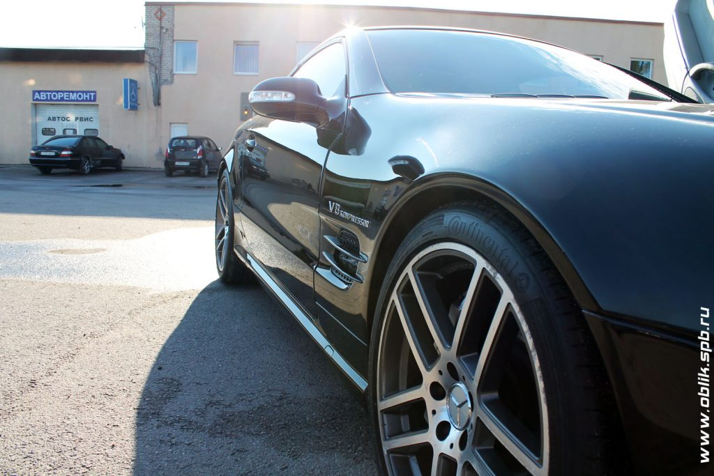Детейлинг Mercedes-Benz SL-class