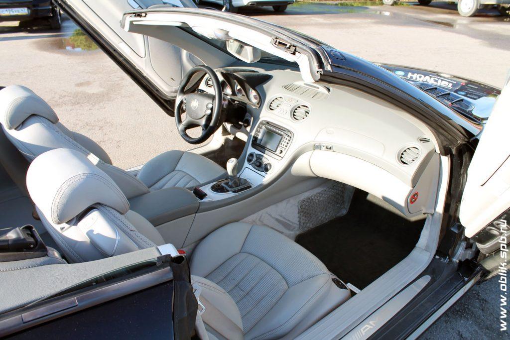 Детейлинг салона Mercedes-Benz SL-class