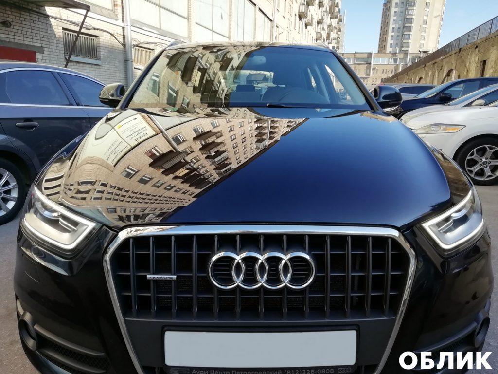 Детейлинг Audi Q3